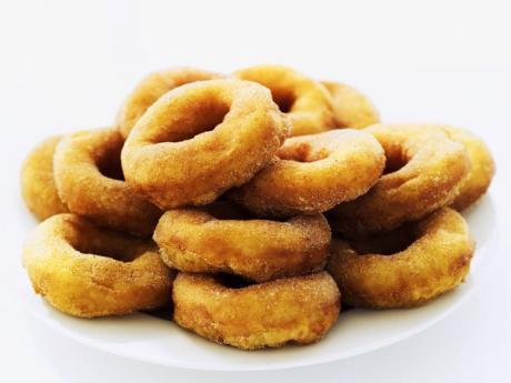 Donuts caseros para niños. Recetas de meriendas