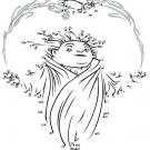 Dibujo para unir los puntos del Creador de Sueños. Pasatiempos