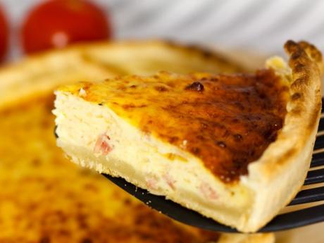 Quiche de jam n y queso para ni os recetas f ciles for Platos faciles para cocinar