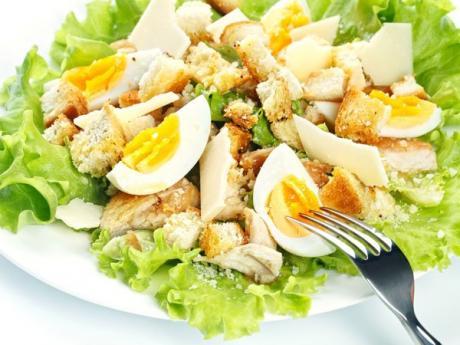 Receta de ensalada de pollo para niños