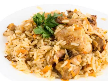 Receta de arroz con pollo para niños