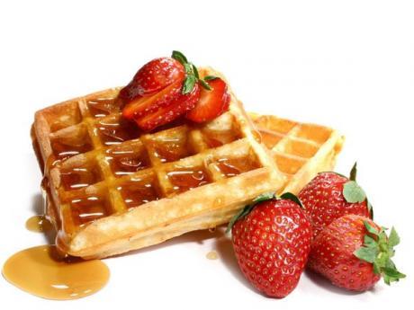 Receta masa de waffles