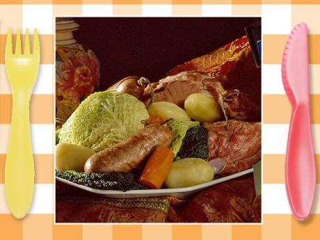 Receta de cocido gallego. Guisos típicos para niños