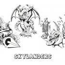 Skylanders Spyro´s Adventure. Dibujos de videojuegos para niños