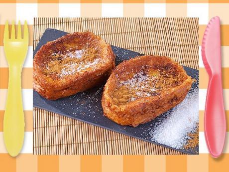 Torrijas sin gluten, receta dulce para niños celíacos