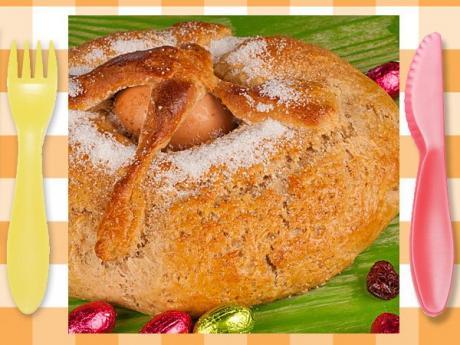 Mona de Pascua. Receta tradicional para niños