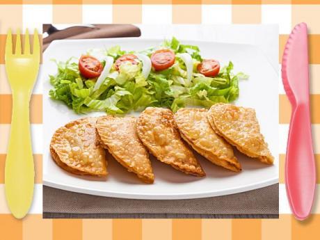 Empanadillas de atún sin gluten para niños celíacos