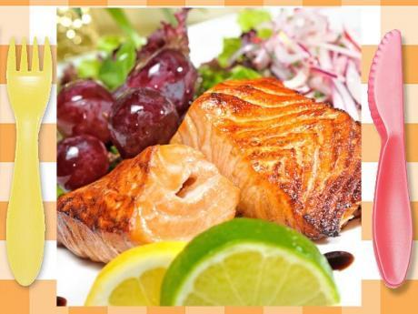 Salmón al horno. Receta de pescado al horno