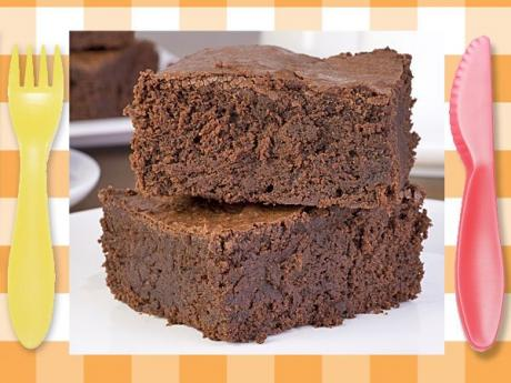 Receta de brownie para niños. Postre clásico fácil