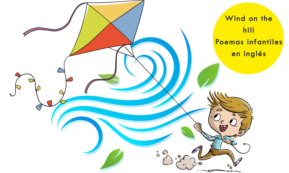Wind On The Hill Poesía Infantil En Inglés