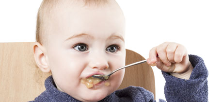 Alimentacion para un bebe de 18 meses