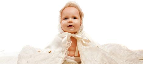 Los símbolos del bautismo del bebé