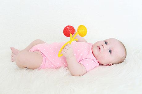 El bebé de 3 meses