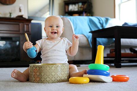El beb de 8 meses - Cereales bebe 5 meses ...