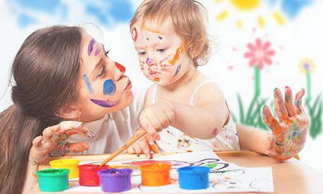 La importancia de los colores para los bebés