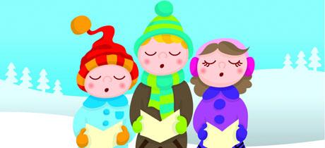 Resultado de imagen de niños cantando villancicos