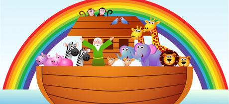 El arca de Noé, cantajuegos de animales