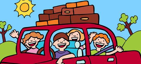 En el coche de papá. Canción infantil para bailar
