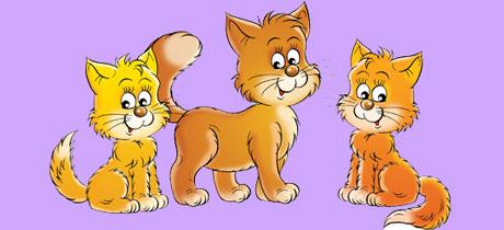 Canciones infantiles de animales los gatitos - Bebes dibujos infantiles ...