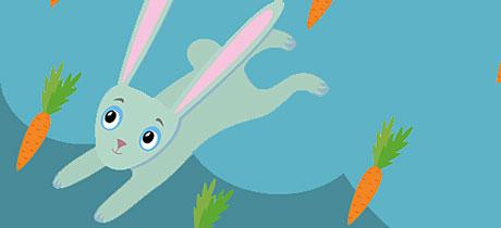 La ronda de los conejos canci n infantil de animales for Espejo para ver al bebe en el auto