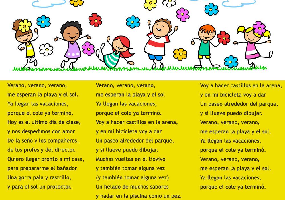 cancion de fin de curso y verano para niños