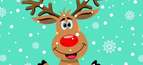 Villancicos de navidad era rodolfo un reno