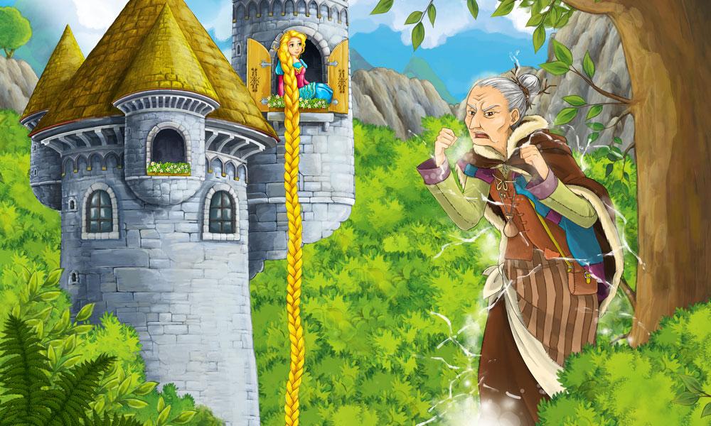 cuento rapunzel para niños