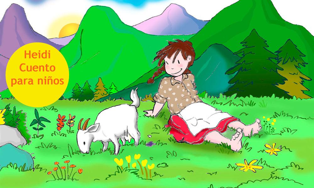 Heidi, versión corta del cuento para niños