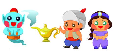 Cuentos Infantiles En Inglés Aladdin