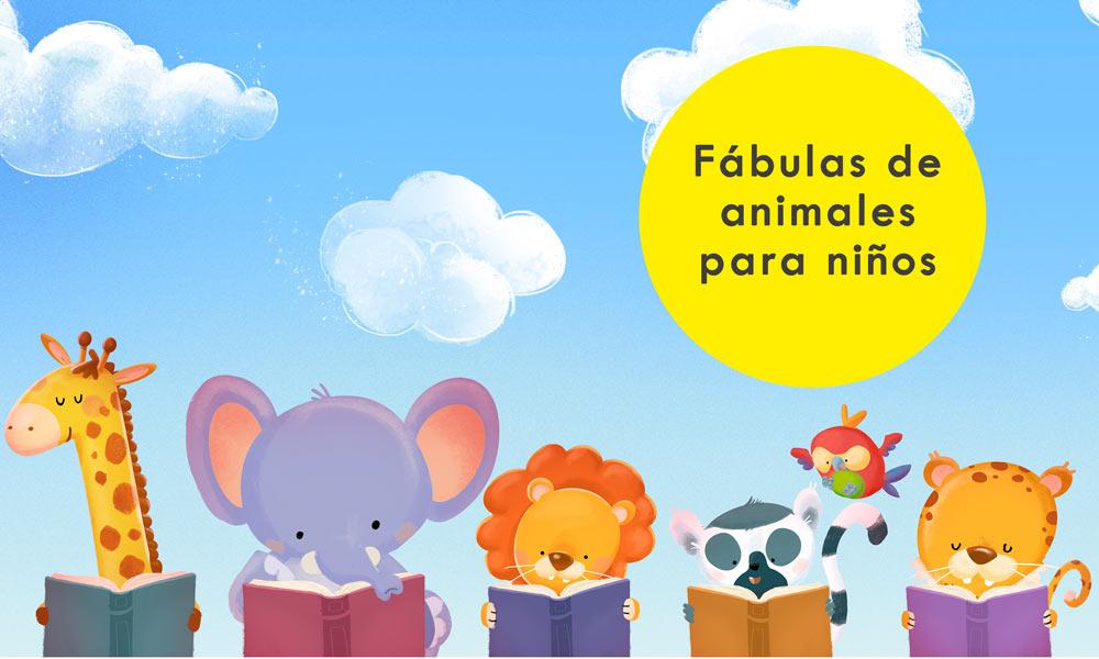 18 Fábulas De Animales Para Niños Cuentos Cortos Con Moraleja