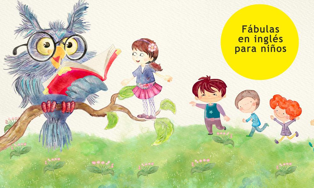 11 fábulas en inglés para niños