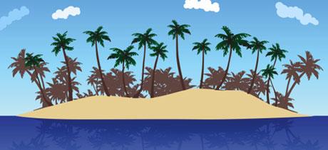 Cuentos infantiles de aventuras La isla encantada