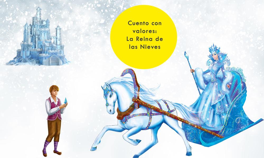 Cuento la reina de las nieves para niños