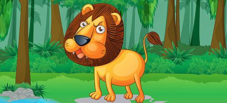 Fábulas infantiles en inglés: The Lion and the Mouse