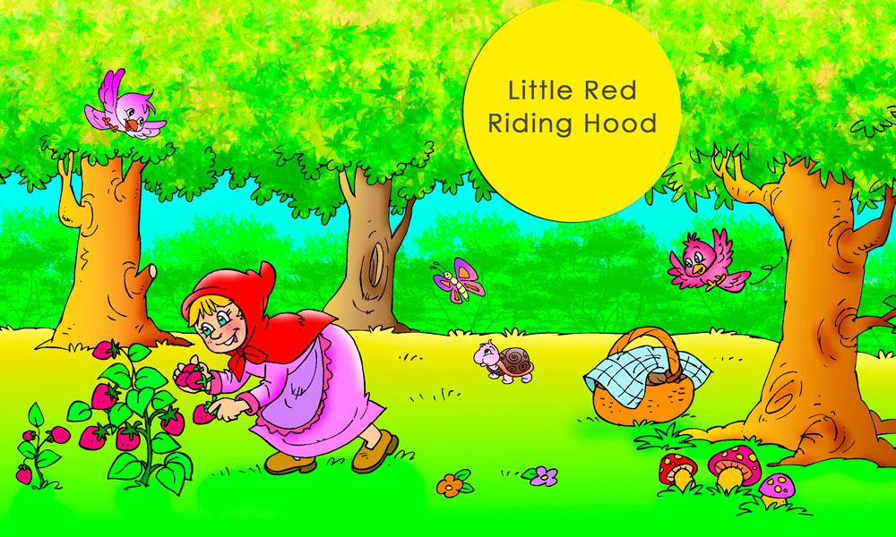 Cuento en inglés: caperucita roja