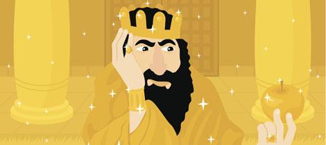 El rey Midas. Cuentos para niños