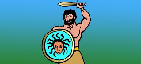 Medusa y Perseo leyenda griega para nios