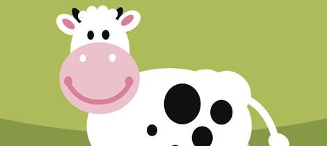 manualidades vacas para ni os imagui
