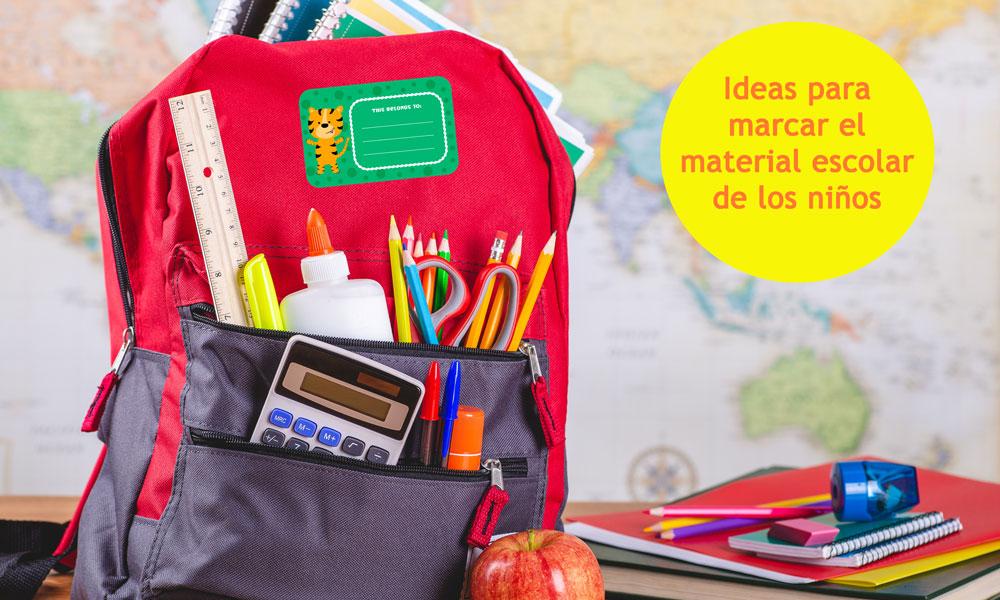 11 Ideas Para Marcar La Ropa Y Material Escolar De Los Niños