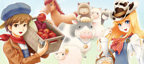 Harvest Moon: a new beginning. Juego infantil para Nintendo 3DS