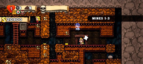 Spelunky. Juego infantil para PlayStation 3