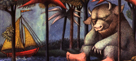 Donde Viven Los Monstruos Libro De Fantasía Para Niños