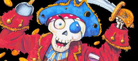 El Tesoro De La Isla Del Pirata Calavera Cuento Infantil