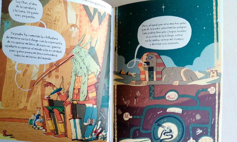 Libro sobre egipto para niños