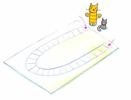 Figuras De Gatos Manualidad Infantil Para Jugar