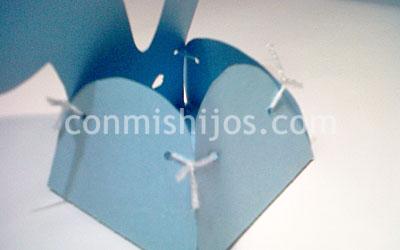 Caja De Conejo Para Pascua Manualidad Infantil
