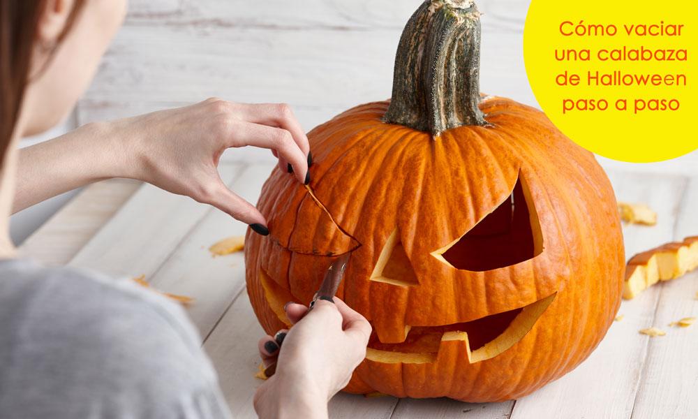 Cómo Vaciar Y Decorar Una Calabaza De Halloween De La Forma Más Sencilla