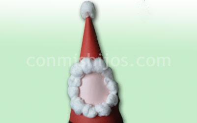 Gorro De Papá Noel Manualidades De Navidad