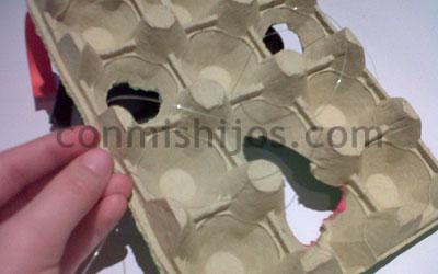como hacer una mascara de monstruo para niños