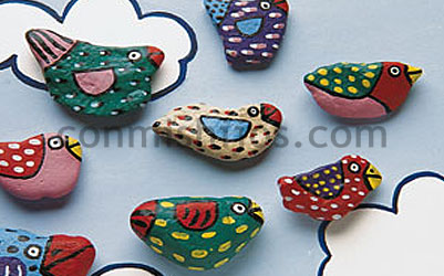 piedras decoradas paso